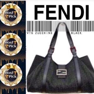 🏆🎉HOST PICK🎉🏆 • FENDI Zucchino Canvas Bag